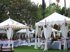 13. Mulltiple Tents My Fair Wedding Set