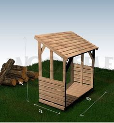 10 wood storage shed plans to keep stack of firewood from getting damp.