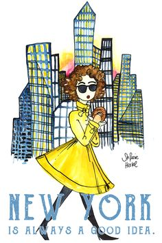 Summer in the city! New York, New York! New York is always a good idea.