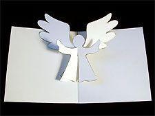 Ангел объемная открытка