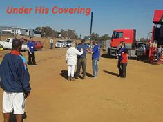 Under his Covering.  Soup and bread outreach in Kempton park