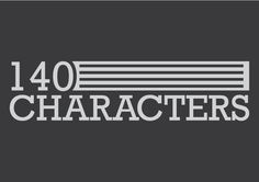 140 Characters logo