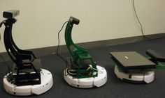 Bilibot -- Robot based on iRobot Create and Kinect depth camera - On of many new concepts in robotics that influence the cleaning bots K'tan and A'ton ride in A111.