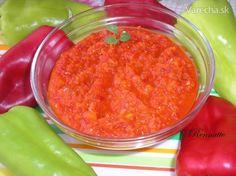 Papriková pochúťka - Zámocká paprika (fotorecept)