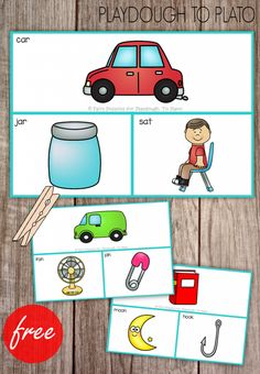 FREE Rhyme Clip Cards! What a fun rhyming activity for preschool or kindergarten. Read the picture on tip and clip the word that matches!