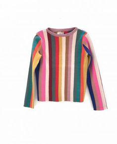 12620 vertical stripe sweater