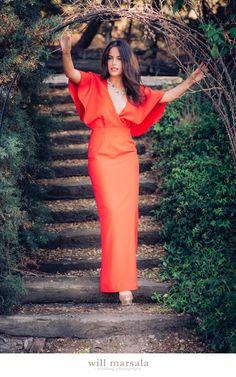 Alquiler de vestidos y accesorios - Will Marsala - Invitada perfecta - Dresseos