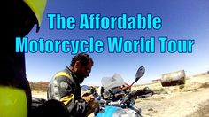 The affordable World Tour on motorcycle