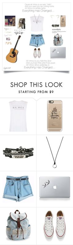 """""""Everything Has Changed…"""" by seafire248 ❤ liked on Polyvore featuring good hYOUman, Casetify, FOSSIL, Chicnova Fashion, Aéropostale, Converse, Cara, women's clothing, women and female"""