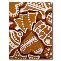 Christmas Cookies Postcards