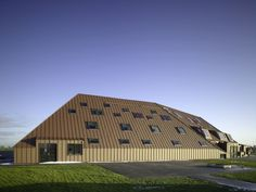 elementary school complex at techum by zerodegree architecture.  THE NETHERLANDS.