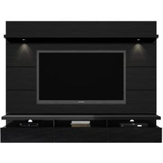 Manhattan Comfort Cabrini Floating Wall Theater Entertainment Center for TVs up to Multiple Colors Image 3 of 3 Floating Entertainment Unit, Floating Entertainment Center, Tv Entertainment Centers, Dvd Shelves, Storage Shelves, Shelf, Tv Wall Panel, Minty House, Flat Screen Tv Stand