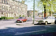 Nithsdale Road, ( continuation of Alison Street ) Glasgow Southside ... 1975