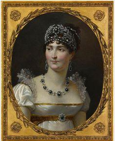 Empress Josephine (Portrait de laimperatrice Josephine) (c. 1810), artist Jean-Baptiste REGNAULT, French 1754-1829, oil on canvas