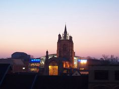 Sunset - Forum & St Peter Mancroft