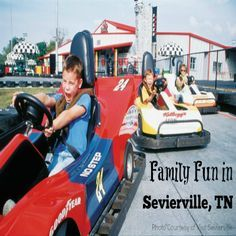 From tame to adventurous, indoors and out, families have a lot of options for activities while visiting Sevierville, Tennessee.    Located+in+the+heart+of+the+Smoky+Mountains+region,+Sevierville,+Tennessee+