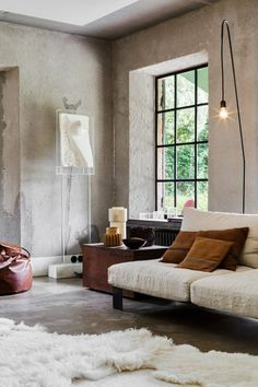 """apparently """"Industrial Bohemian"""" is my jam - one day i'll have a sweet loft with some gorgeous concrete walls and/or floors...sigh."""