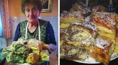 elkeszult-zalai-kelt-retes-ahogy-mami-csinalta Strudel, French Toast, Food And Drink, Sweets, Homemade, Chicken, Breakfast, Cake, Recipes