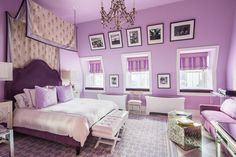 A bedroom for Tommy Hilfiger's daughter at the Plaza