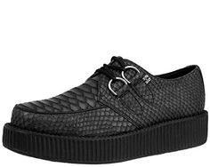 TUK Unisex Grey Reptile Pattern Creeper SlipOn Loafer Grey 4 M US *** Want additional info? Click on the image. (This is an affiliate link) #WomenLoafersSlipOns