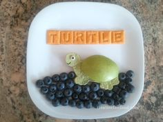 Creative Food: Larry the Turtle