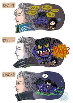 Vergil's Inside Out by sanaez on DeviantArt Character Concept, Character Art, Vergil Dmc, Dante Devil May Cry, Dmc 5, Hitman Reborn, Gaming Memes, Video Game Art, Comic Book Characters