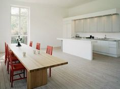 Diseño de casas modernas cocina comedor