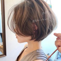 Multiple Messy Layers - 40 Bold and Beautiful Short Spiky Haircuts for Women - The Trending Hairstyle Girls Short Haircuts, Short Hairstyles For Thick Hair, Modern Haircuts, Curly Hair Men, Short Hair Cuts For Women, Curly Hair Styles, Boy Haircuts, Funky Hairstyles, Formal Hairstyles
