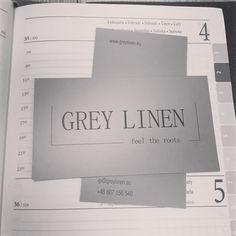 GREY LINEN •dobry adres•