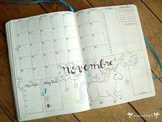 Quoi de neuf en Novembre dans mon Bullet Journal ? Comme en Octobre où le décor automnal était omniprésent, j'ai choisi un petit thème...