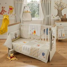 Classic winnie the pooh bed in bag bags winnie the pooh and classic - Cute winnie the pooh baby furniture collection ...