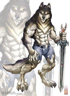 Night Wolf comic character design on Behance