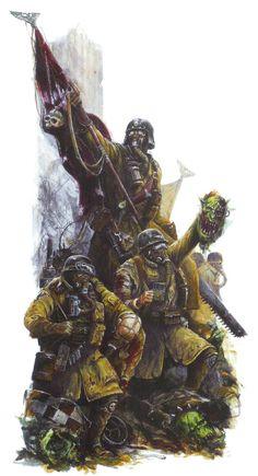 Imperial Guard - Warhammer 40k - Astra Militarum - Armageddon Steel Legion