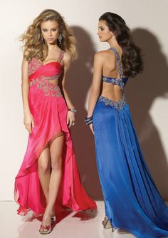 One Shoulder Prom Dress 29b63375f