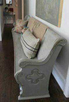 Repurposed Church Bench
