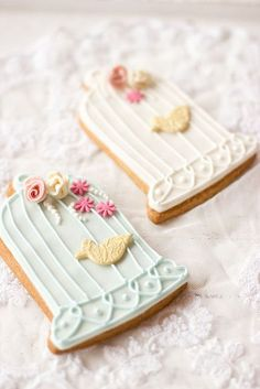 Birdcage Cookies - so sweet for a baby shower