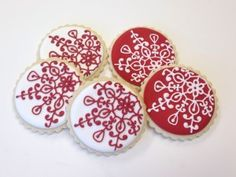 Decorated Christmas Cookie Balls