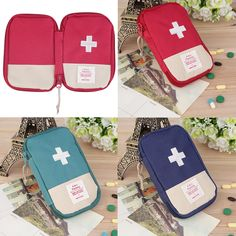 Hot! New Outdoor Camping Home Survival Portable First Aid Kit bag Case free shipping