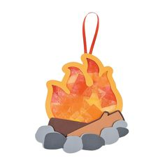 Tissue+Paper+Camp+Fire+Ornament+Craft+Kit+-+OrientalTrading.com