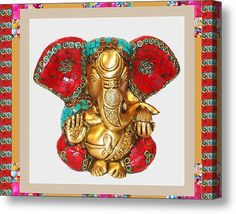 Ganapati Ganesh Idol Hinduism Religion Religious Spiritual Yoga Meditation Deco Navinjoshi Rights M by Navin Joshi - Royalty Free and Rights Managed Licenses Buy Prints, Framed Prints, Canvas Prints, Wood Canvas, Stock Art, My Favorite Image, Buy Posters, Texture Art, Yoga Meditation