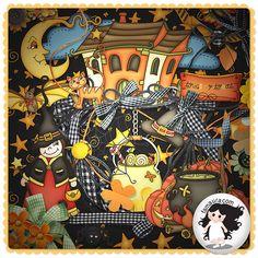 Kit - Dia Das Bruxas by Fa Maura [FaMaura_KitDiaDasBruxas] - R$14.11 : famaura.com - scrapshop