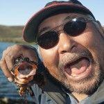 Inuit elder Solomon Awa