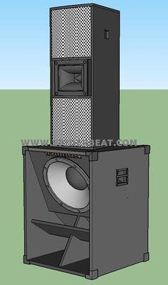 skema speaker sub bass lapangan 18 inch 15 Inch Subwoofer Box, Diy Subwoofer, Subwoofer Box Design, Speaker Box Design, 12 Inch Speaker Box, Rcf Audio, Sub Box Design, Electronics Mini Projects, Speaker Plans