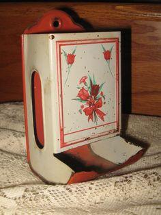 109 Best Tin Match Holders Vintage Images Vintage Tin