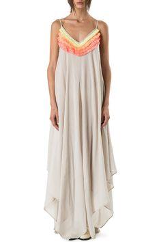 Fringe Handkerchief Dress