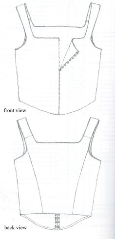 This shows proper seam placement.  the shoulder seam is NOT at the top of the shoulder.