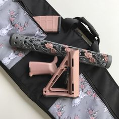 OffHand Gear Takes Accessories to Another Level with New Chameleon Handguard Finishes and Matching Furniture Sets Custom Glock, Custom Guns, Armas Airsoft, Ar Parts, Best Concealed Carry, Cool Guns, Guns And Ammo, Firearms, Hand Guns
