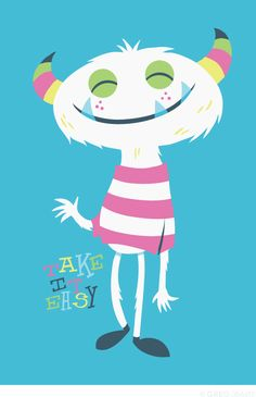 Take It Easy Available at Society6. © Greg Abbott Created (YMD) 2012-04-26.