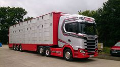 New Trucks, Cool Trucks, Livestock, Cars And Motorcycles, Cowboys, Sweden, Vehicles, Modern, Gift