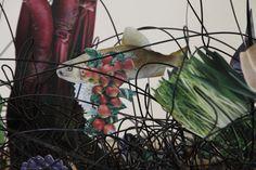 """Details """"In front of curtain"""" by TAN Ru Yi. 2017  http://tanruyi.blogspot.com"""